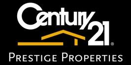 Century 21 Black with Gold Carlos Samuelson Logo