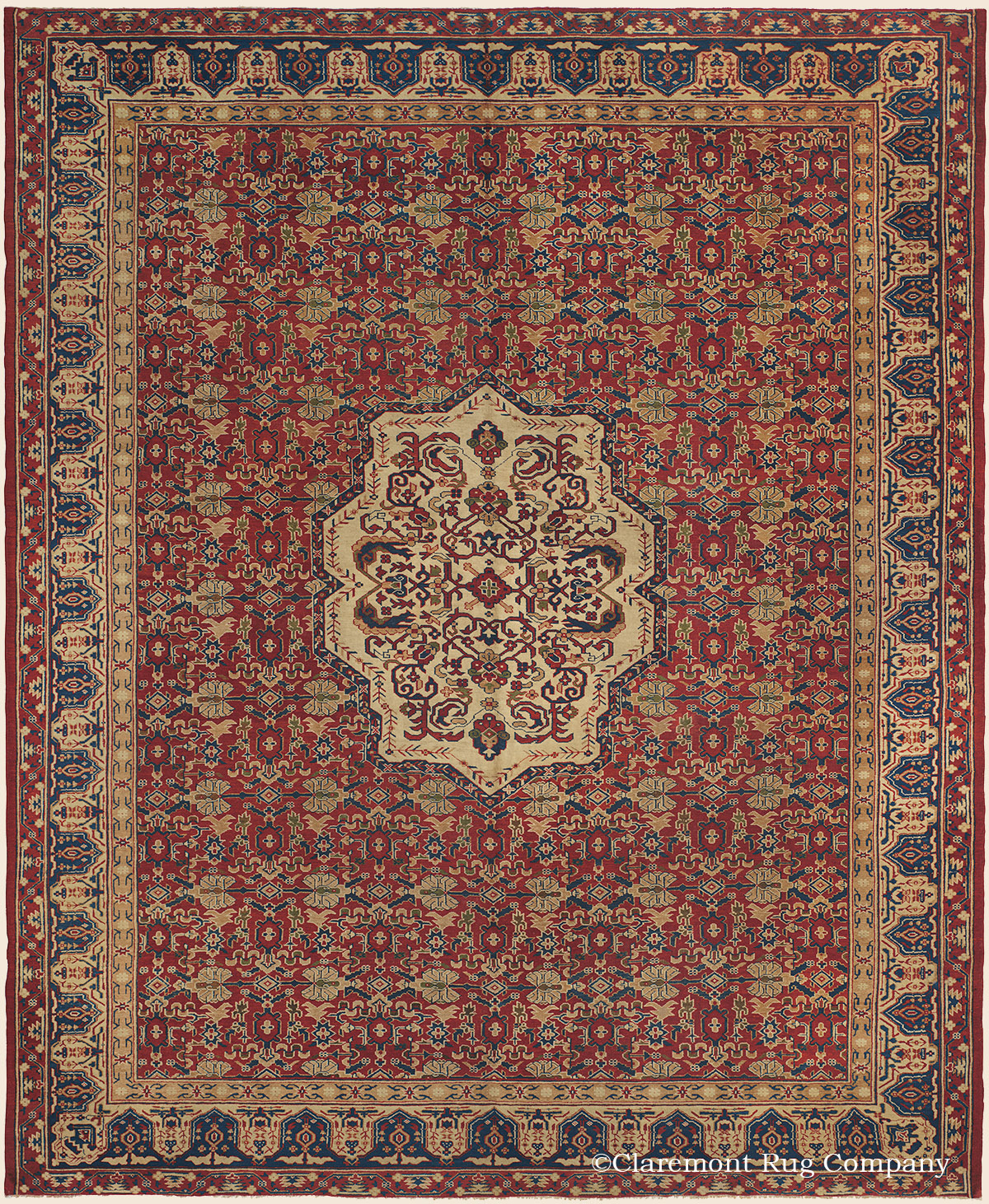 Asian Carpet Samarkand Central Asian Antique Rug Claremont Rug Company