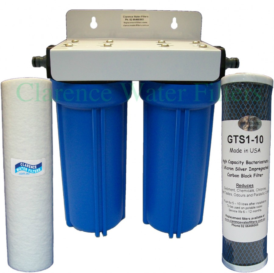 Carbon Water Filter System Twin Caravan Rv Water Filter System With Sediment Silver Carbon Filter