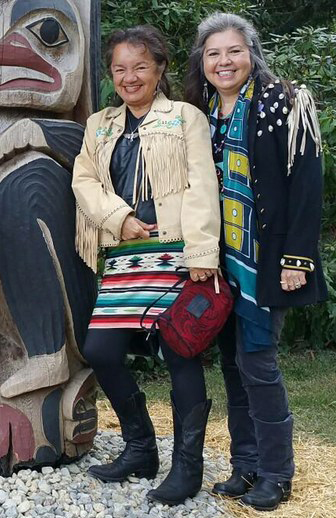 Clarissa Rizal and Donna Beaver Pizzarelli