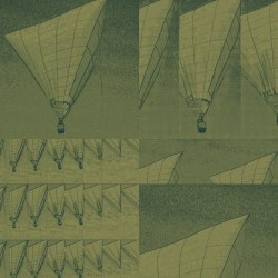 The Lost DaVinci Tetrahedron Hot Air Balloon Sketches