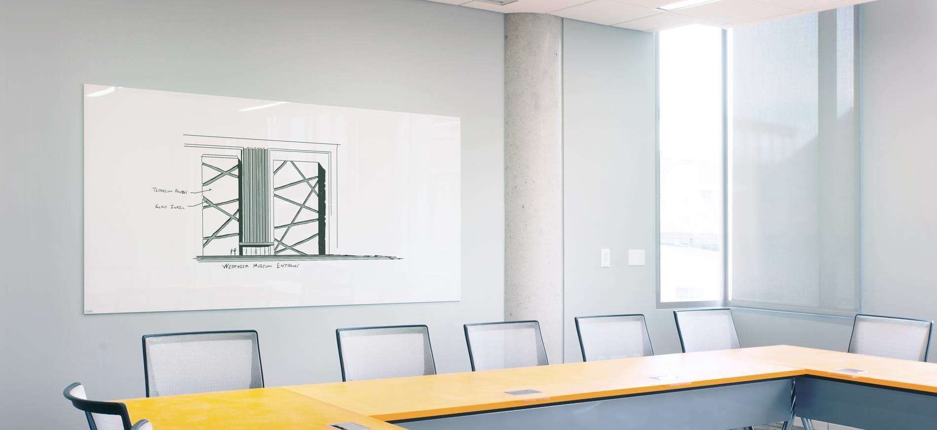 Turn A Wall Into A Whiteboard Transform Overlooked Office Areas With A Glass Whiteboard Clarus