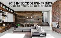 Interior Home Design Trends 2016 - Homemade Ftempo