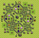 Clash Of Clans Th Base Defense