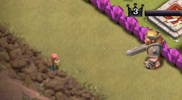 Clash-of-Clans-lady-villager-clapping-for-trap-or-tesla