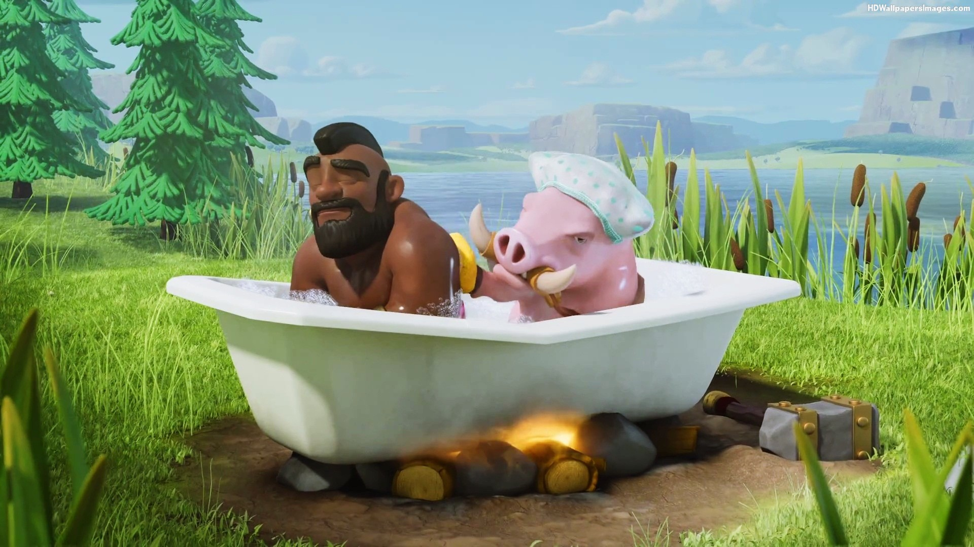 Fall Town Wallpaper Quick Guide To Succeeding With Hog Riders Clash For Dummies