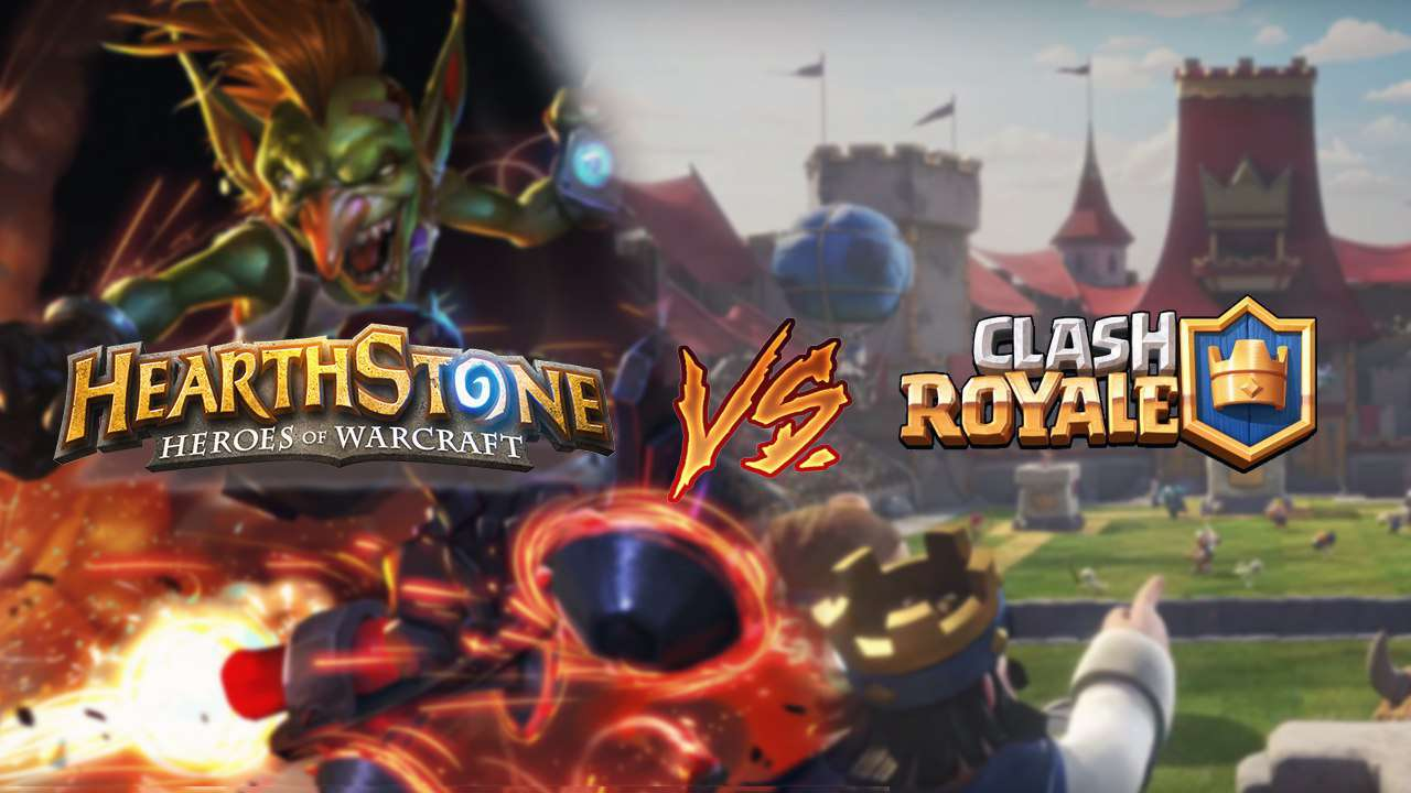 Clash Royale Juego De Mesa Clash Royale Vs Hearthstone
