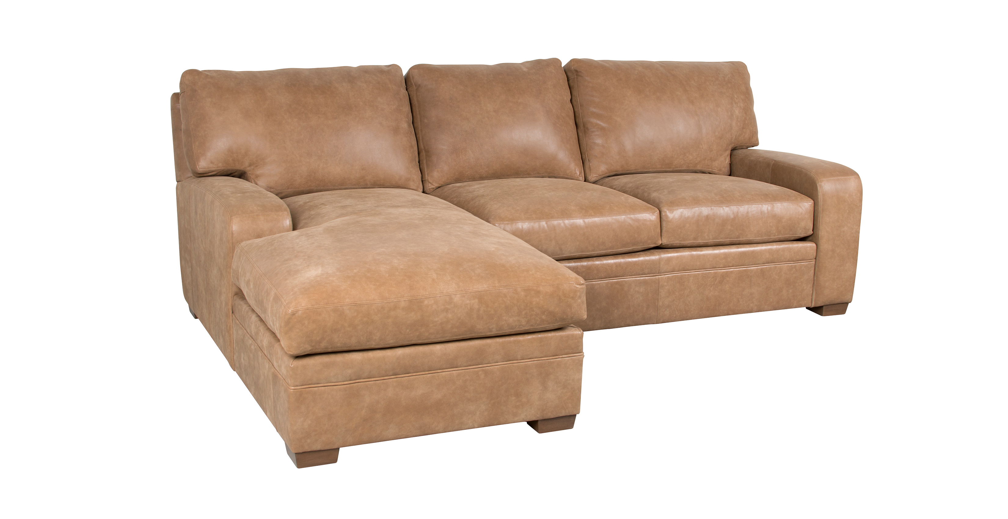 Leather Sectional Vancouver Classic Leather Vancouver Sectional