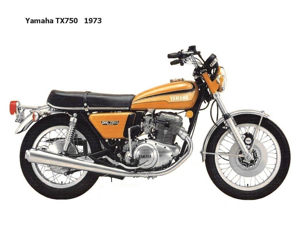 Royal Enfield 3d Wallpaper Yamaha Tx750 Classic Motorbikes