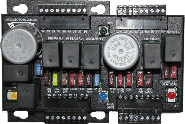 Kit Car Fuse Box - Wiring Diagram Online