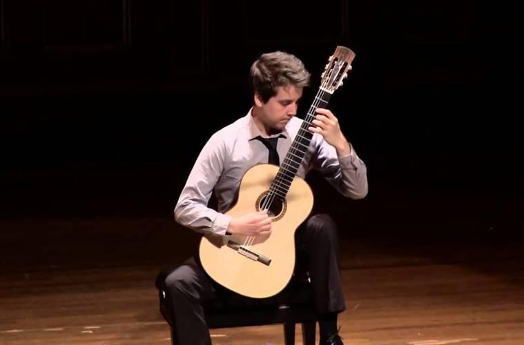 Watch Xavier Jara's Award-Winning Performance from 2014′s Boston Guitar Fest