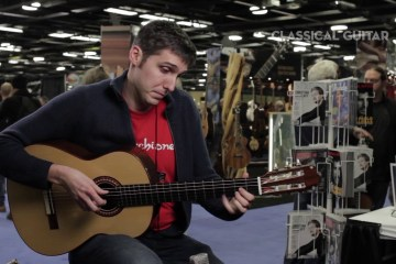 Giacomo Fiore Classical Guitar Session NAMM 2016