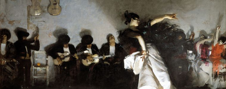 Flamenco Dancer Classical Guitar