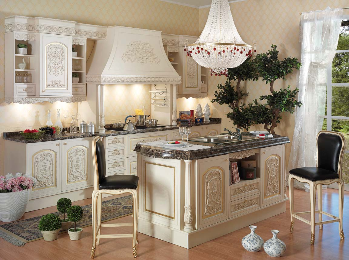Classical Kitchens Italian Style Kitchentop And Best Italian Classic Furniture