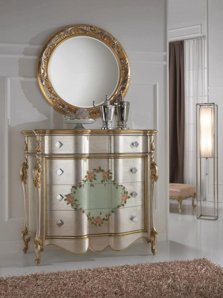 Double Commode » Gold And Silver Gold Leaf Bedroom Furnituretop And Best