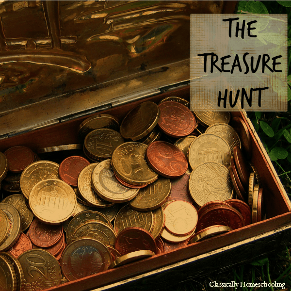 The Treasure Hunt and First Geography Hop!