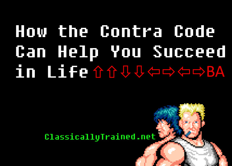 Contra code succed in life classically trained