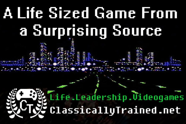 life sized video game classically trained