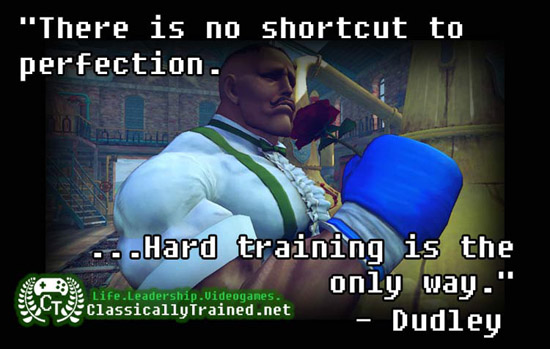 video games quotes street fighter IV dudley life lessons from video games