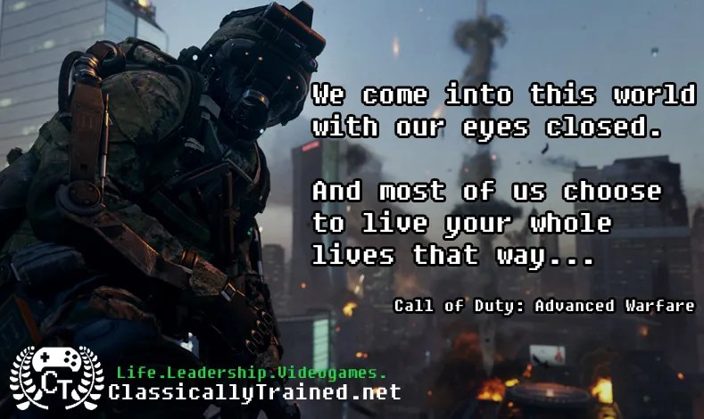 video game quotes call of duty advanced warfare