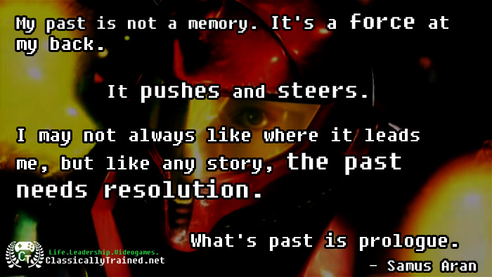 video game quote metroid samus aran nintendo motivational