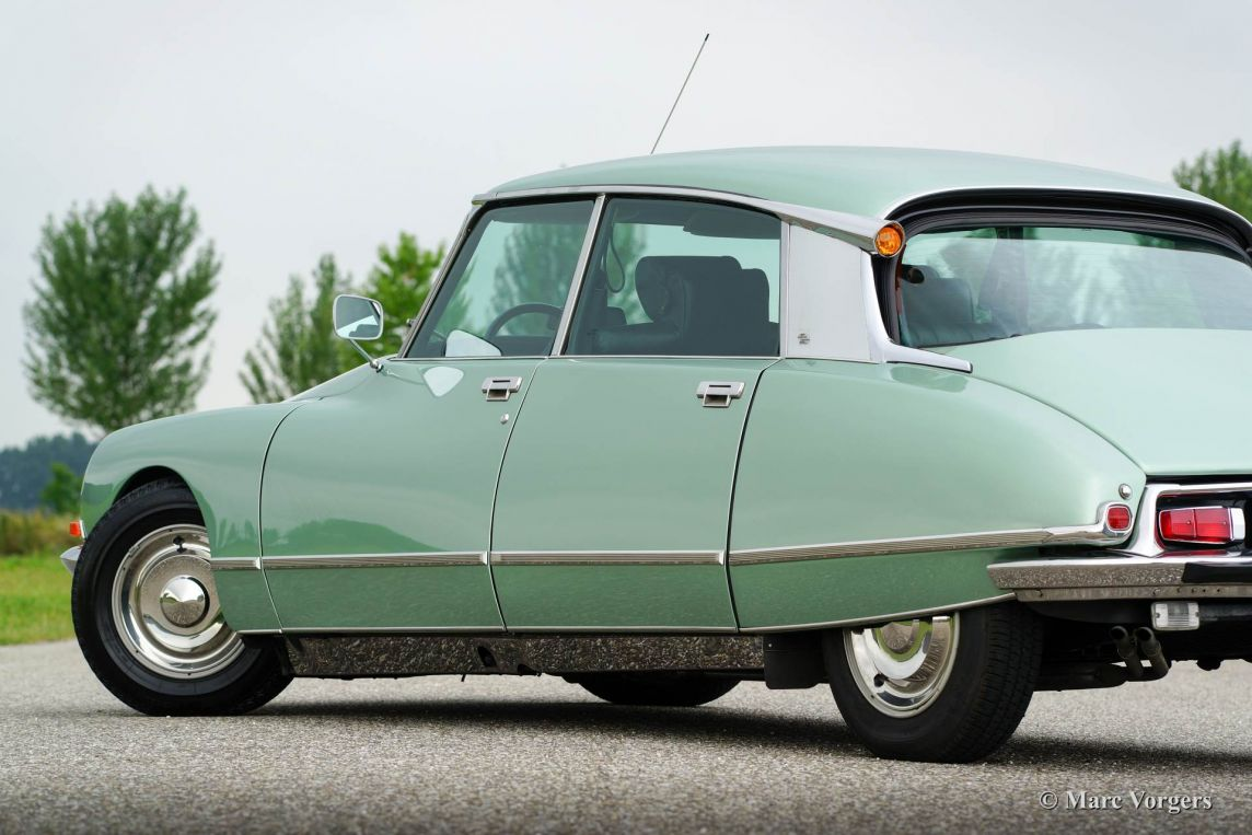 Cars Tapijt Citroen Ds 21 M Pallas, 1972 - Classicargarage - Nl