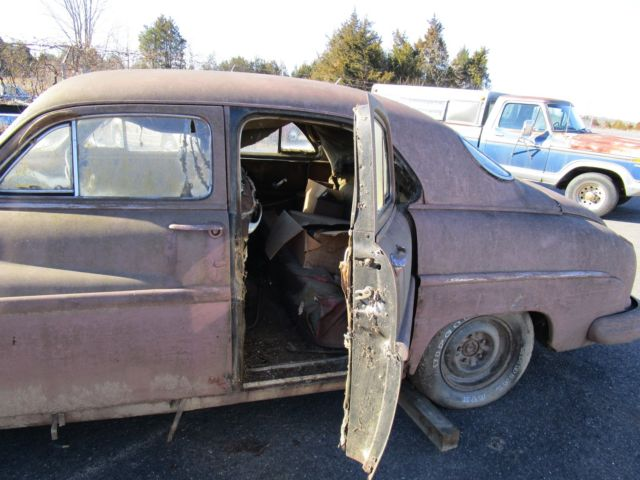 Baby Merc Classic 1949 Lincoln 4dr Suicide Rat Rod Kustom Lead Sled Just