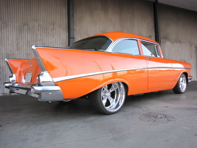 1956 Chevy Belair 150/210 Base 2 Door Seadan Pro Street Pro Touring
