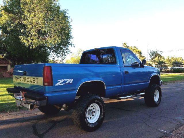 1991 Chevrolet Z71 Silverado 1500 4x4 Short Bed 4wd 57l