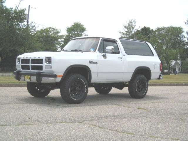 1992 Dodge Ramcharger 4X4