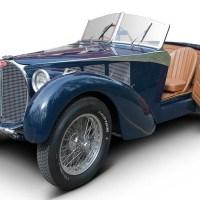 Re-bodied Bugatti 57C