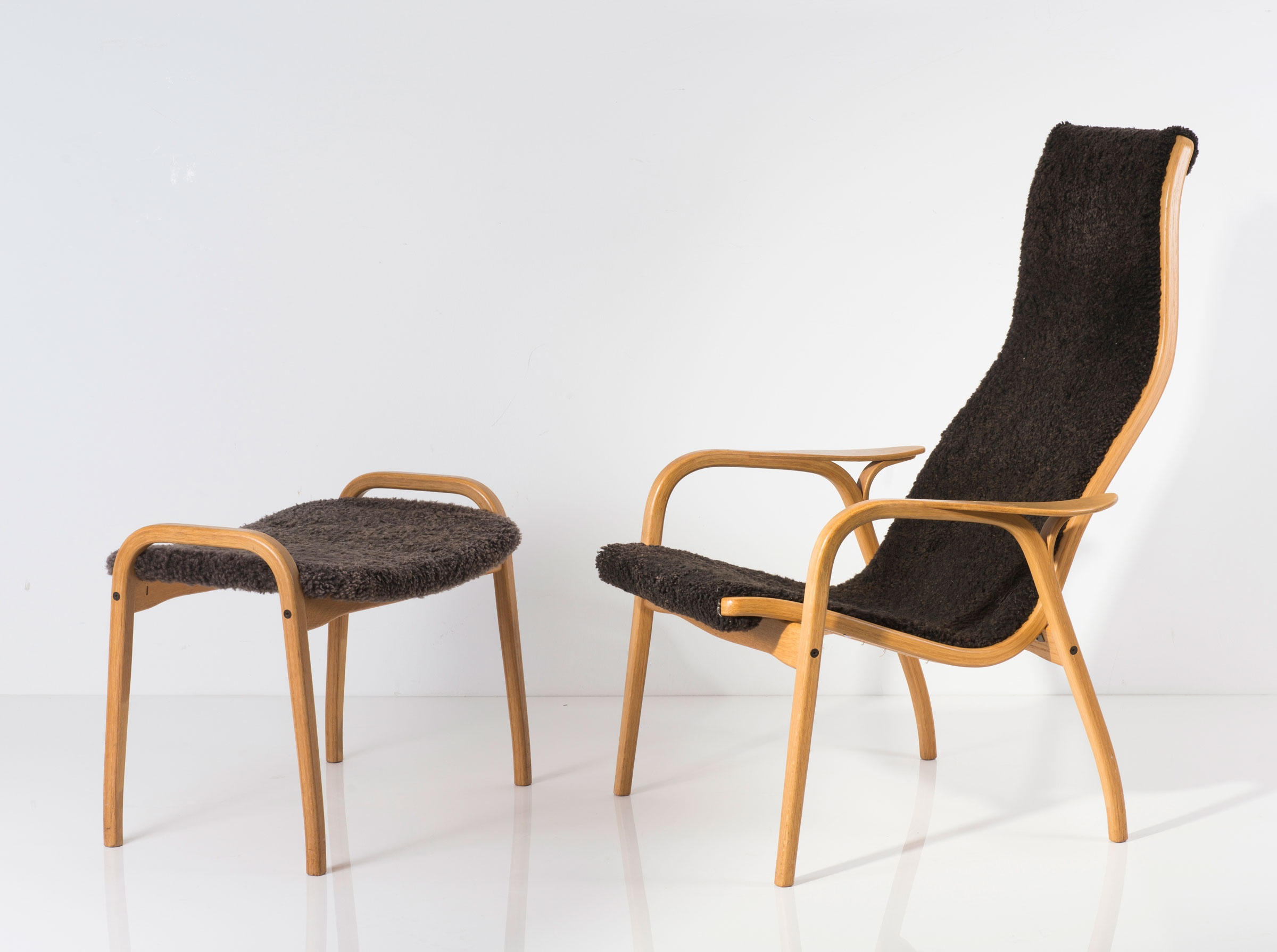 Swedese Sessel Lamino Easy Chair And Ottoman By Yngve Ekström Classic Driver