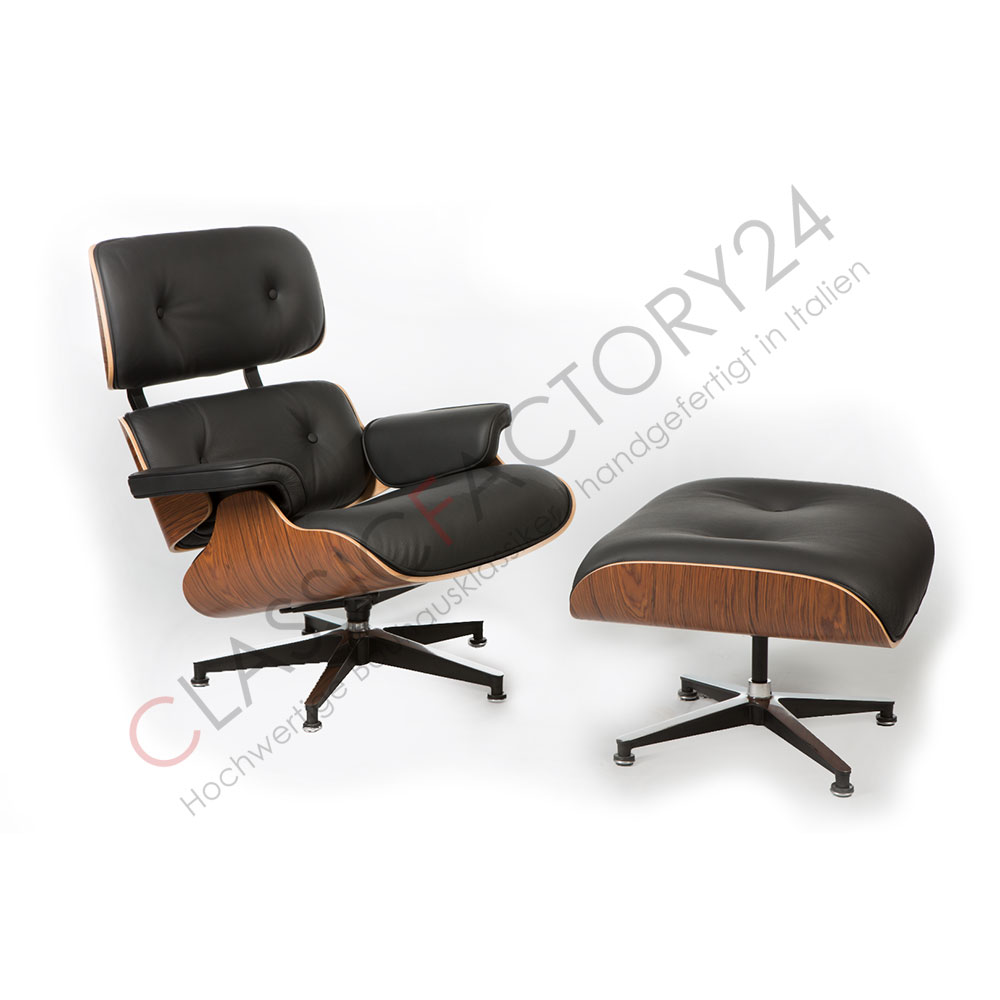 Sessel Holzschale Charles Eames Lounge Chair Mit Ottoman