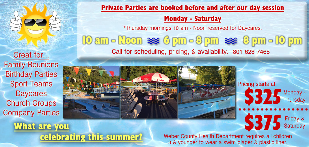 Riverdale - Private Parties Flyer Classic Skating