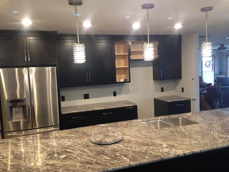 Kitchen Island Trends Color Trends In Granite, Quartz, Marble, & Soapstone - Grey