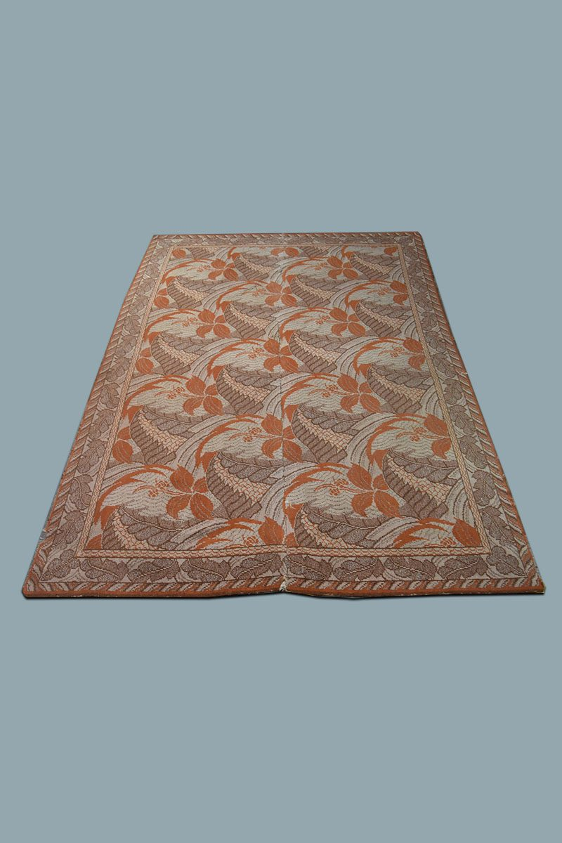 Patterned Carpet 10 X 8 Brown Orange Floral Patterned Carpet The Classic Prop