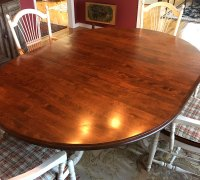 Kitchen Table Refinishing - Kitchen Remodeling   Classic ...