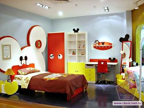 Обустройство детской комнаты. Освещение 02