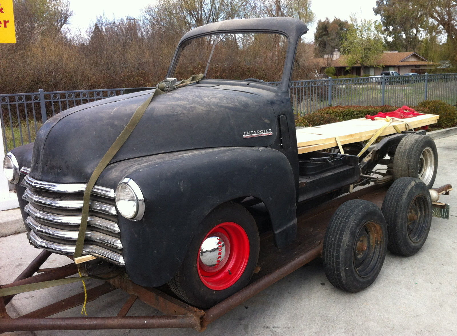 1951 chevy truck on s10 frame
