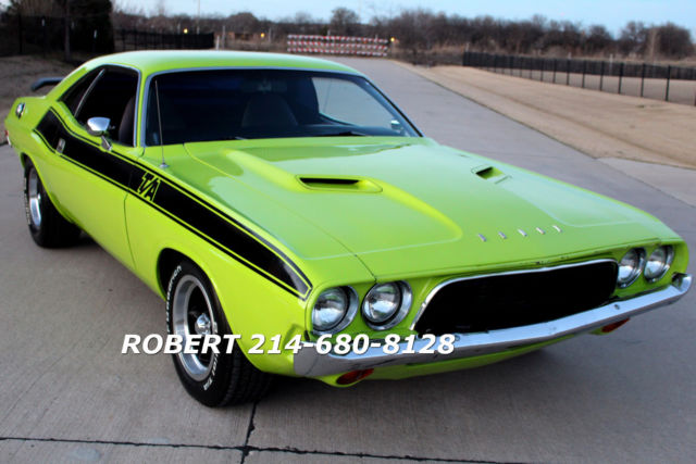 1973 Dodge Challenger TA RT RALLEY 340 1969 1970 1971 1972 1968 1967