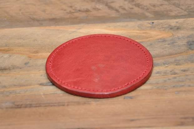 clayton 杯墊紅色