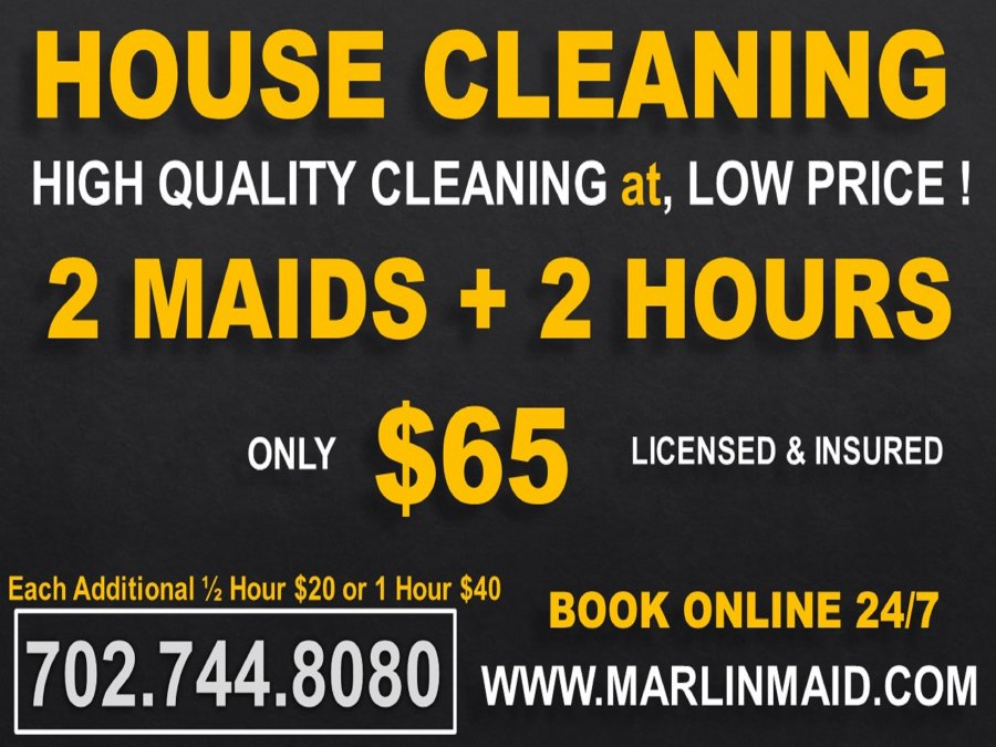 2 MAIDS 2 HOURS $65 HIGH QUALITY MAID CLEANING SERVICES at a, LOW ...