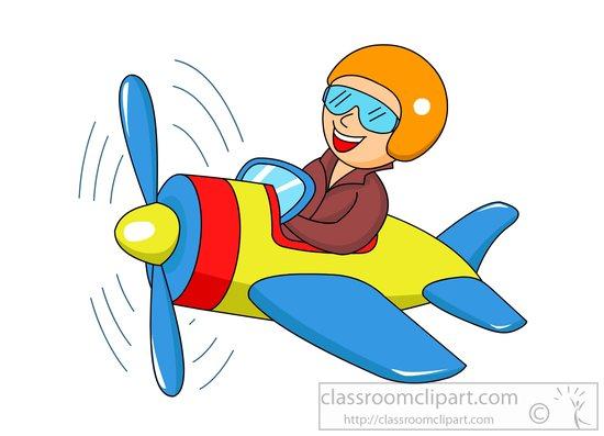 Cute Anime Girl Wallpaper Waving Aircraft Man Flying Plane Cartoon Style Clipart 81588