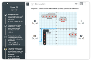 TenMarks Math Platform: Individualized Online Support for Students