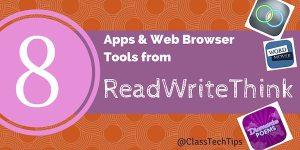 8 Aplicaciones y navegador Web Herramientas de ReadWriteThink