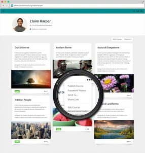 Cloudschool Free Learning Management System for Teachers 1