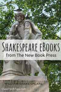 Shakespeare eBooks from The New Book Press-min