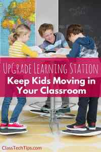 UpGrade Learning Station: Keep Kids Moving in Your Classroom
