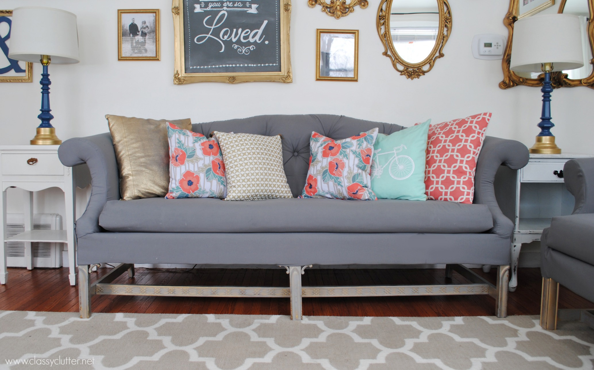 Upholstery Couch Diy How To Reupholster A Sofa