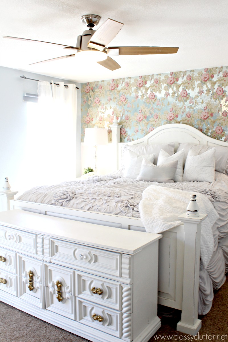 Chic Bedroom Decorating Ideas Shabby Chic Master Bedroom Makeover